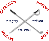 Operation Support Military Golf Footer Logo